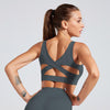 Women Tank Top Fitness Bra Underwear - Dark Gray