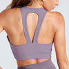 Women Sports Bra Fitness Running Tops - Light Purple