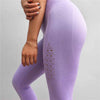 Ulsfaar Workout Seamless Leggings - Light Purple