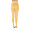 Yoga Sporting Seamless Leggings - Yellow