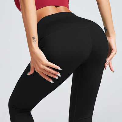 Workout Sport Training Yoga Pants - Black