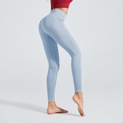 Workout Sport Training Yoga Pants - Light Blue
