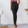 Women Push Up Yoga Pants  High Waist - Black