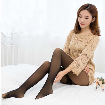Winter Warm Leggings Velvet Pants Plus -  Sock