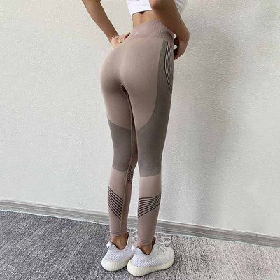 Women High Waist Seamless Legging - Pink