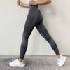 Women High Waist Seamless Legging - Gray
