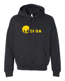 LACHSA Logo Fleece Pullover Hoodie