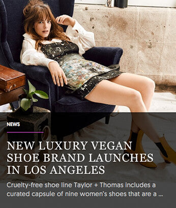 NEW LUXURY VEGAN SHOE BRAND LAUNCHES IN LOS ANGELES