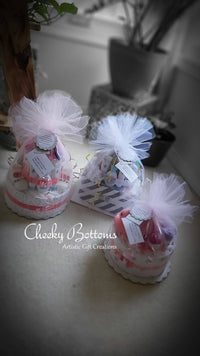 Diaper Cake for Baby - One Tier
