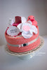 Diaper Cake for Baby - Girl, Boy, Neutral