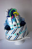 Diaper Cake for Baby (Boy, Girl or Neutral) - Two Tiers