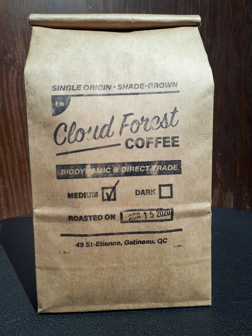 Cloudforest Coffee - Medium Roast