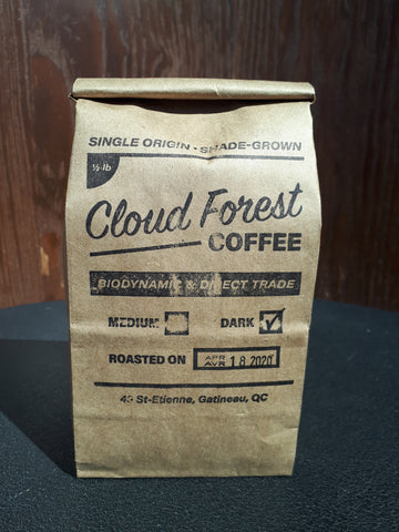 Cloudforest Coffee - Dark Roast