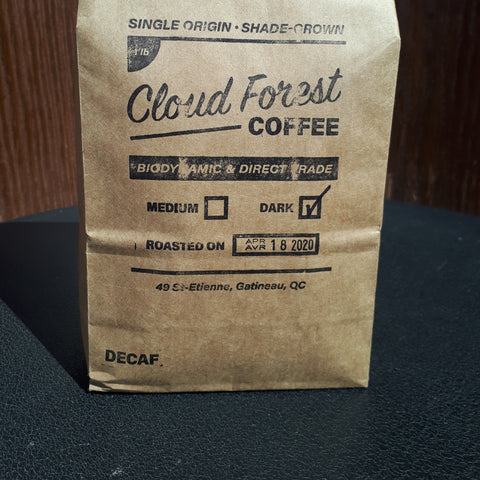 Cloudforest Coffee - Decaf