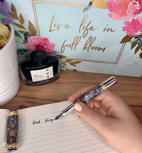 "Premium ""Coffee Flavoured"" fountain or rollerball pen."