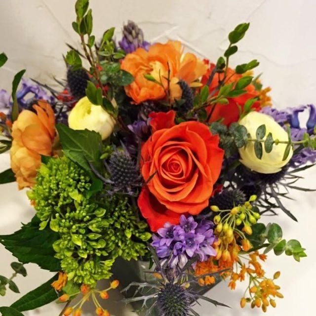 Bright Mixed Vase Arrangement