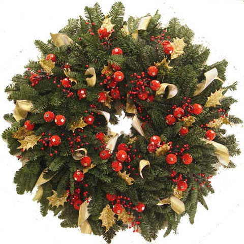 Royal Holiday Wreath
