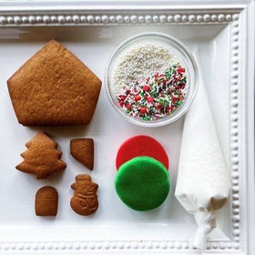 gingerbread house activity kit
