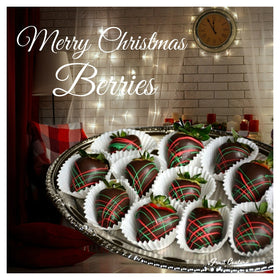 Merry Christmas Swizzle Berries