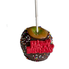 Happy Birthday Caramel Apple