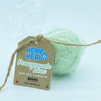 SPA THERAPY POMEGRANATE LIME BATH BOMB – 55MG