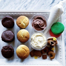 1/2 dozen cupcake activity kit