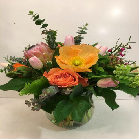 Punch of Colour Arrangement