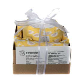 So Soft Organic Baby Accessory Gift Package: Ducks Yellow by Precious Bloom