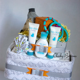 Diaper Cake for Baby (Attitude Series) - Neutral