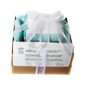 SO SOFT ORGANIC BABY ACCESSORIES PACKAGE: CONFETTI BLUE