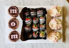 Mom's Cupcakes & Strawberries