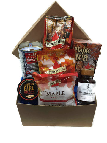 Canadian Girl Gift Basket