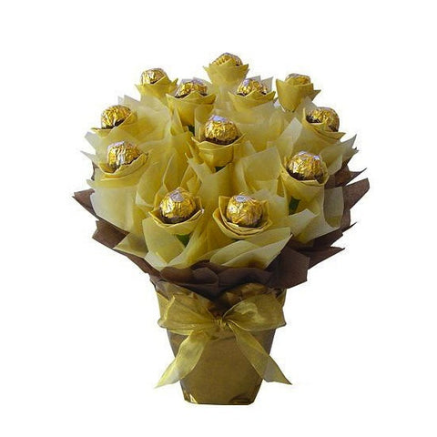 Golden Chocolate Bouquet