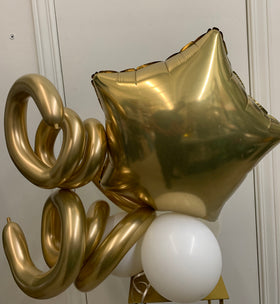 Artisan Mylar Balloon Composition - Birthday