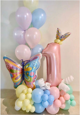 Artisan Mylar Balloon Composition - Birthday 5