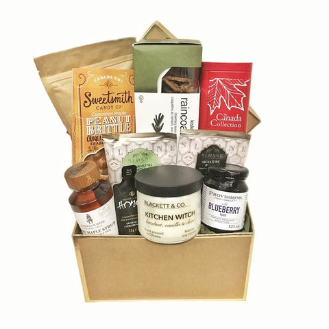 Coast to Coast Canadian Gift Basket