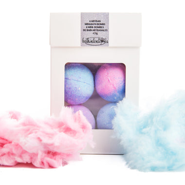I am wonderful mini-bath bombs set - cotton candy