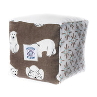 So Soft Organic Baby Accessories Package: Bears Brown