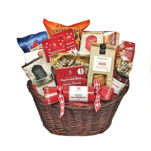 Snacks For The Gang Gift Basket