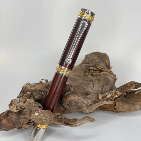 Premium Cocobolo Fountain or Rollerball Pen