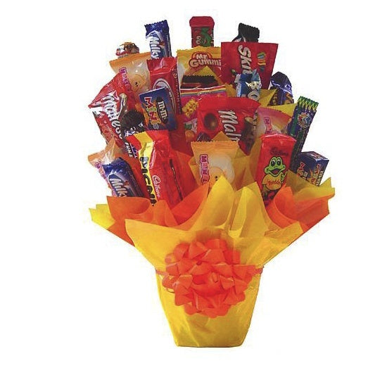 Floral - Chocolate Bars Bouquet