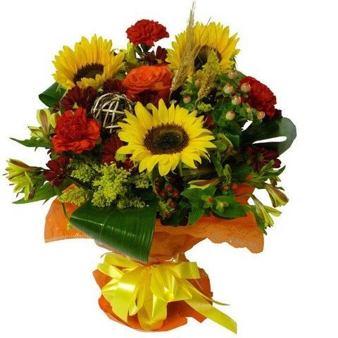 Floral - Falling Leaves Bouquet