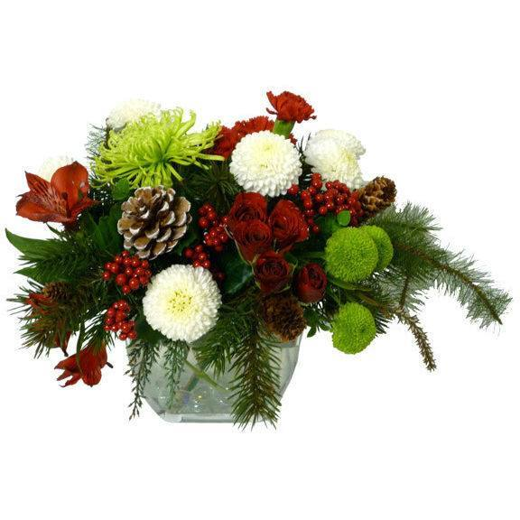 Floral - Snowball And Forts Arrangement