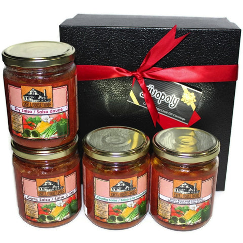 Food - Snell House Salsa Quattro