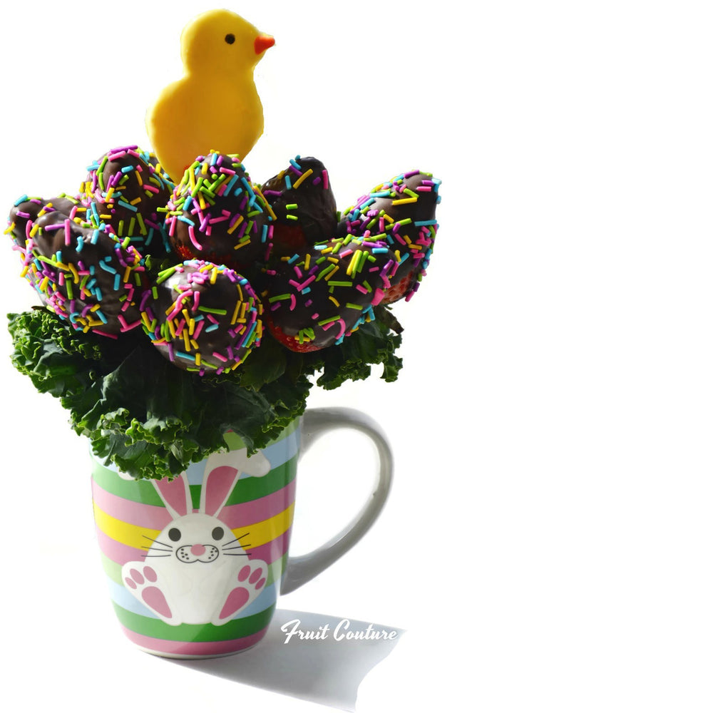 Fruit Basket - Chick Bouquet