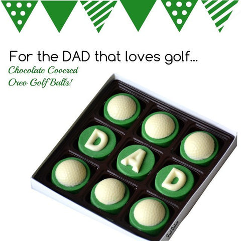 Chocolate Covered Golf Balls