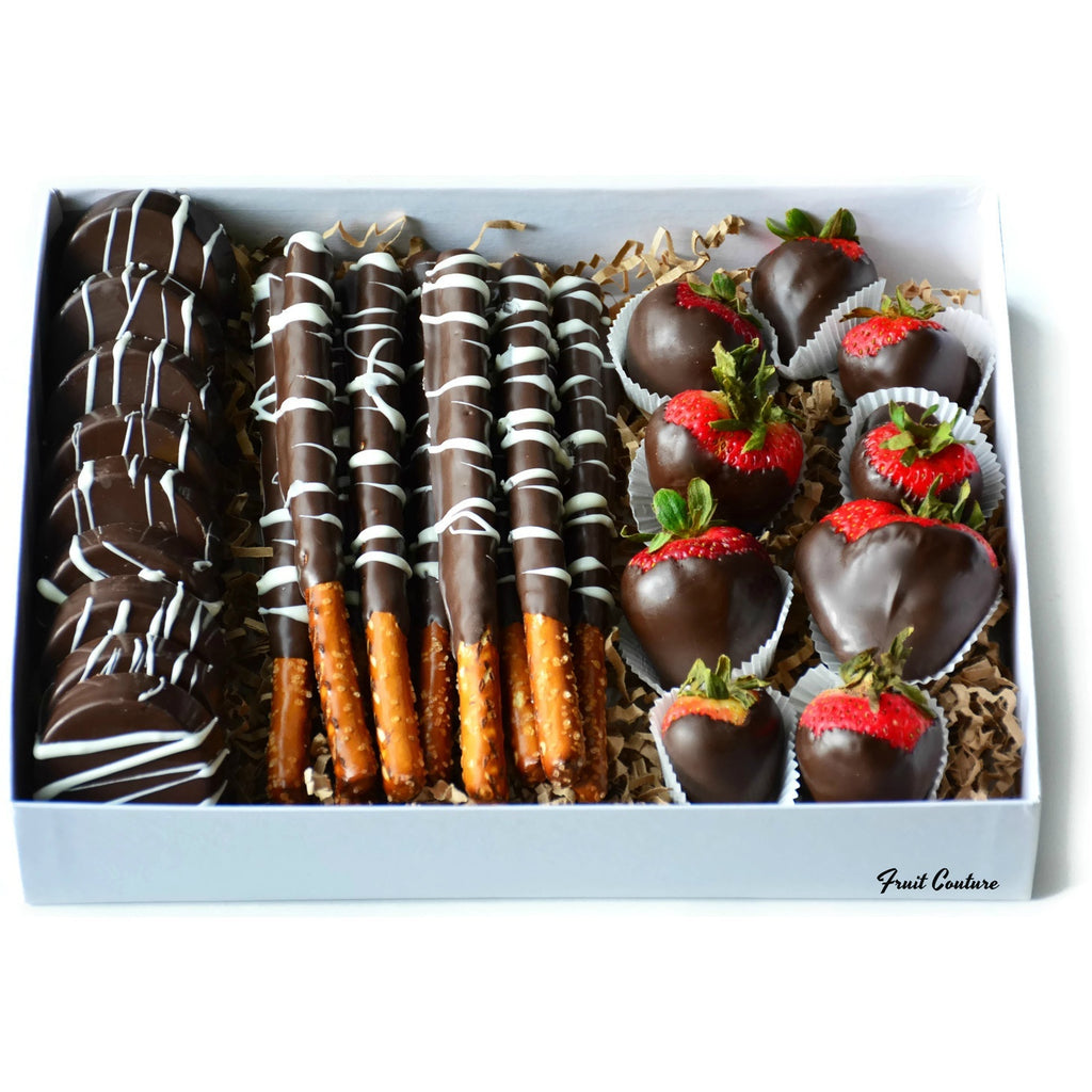 Fruit Basket - Chocolate Swizzle Box Set