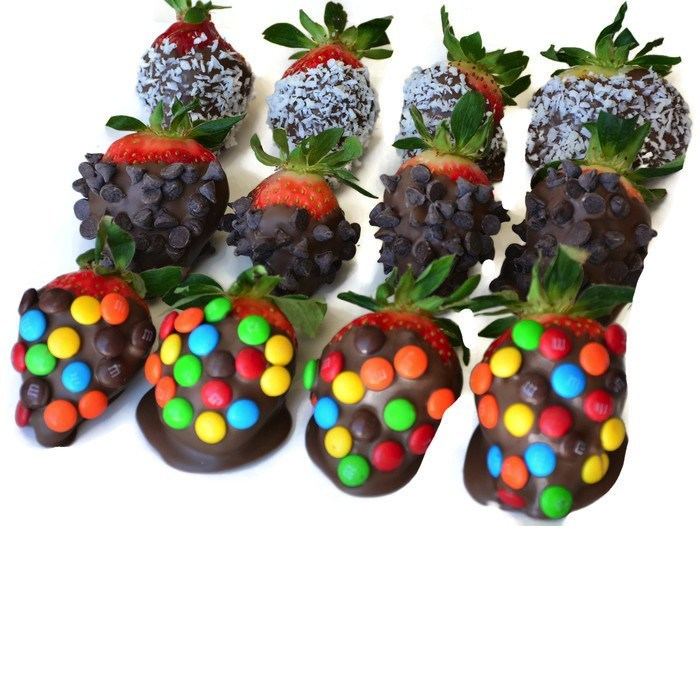 Fruit Basket - Mixed Topping Berries
