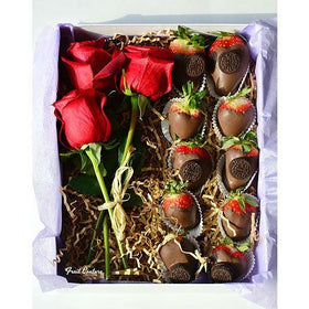 Fruit Basket - Rose & Strawberry Couture Box
