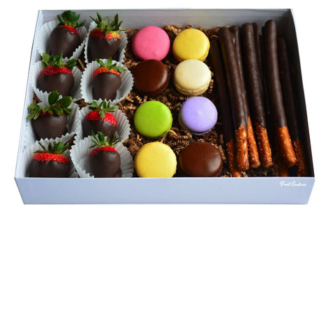 Ottawas awesome easter gifts and gift basket delivery givopoly macaron chocolate dipped box negle Gallery